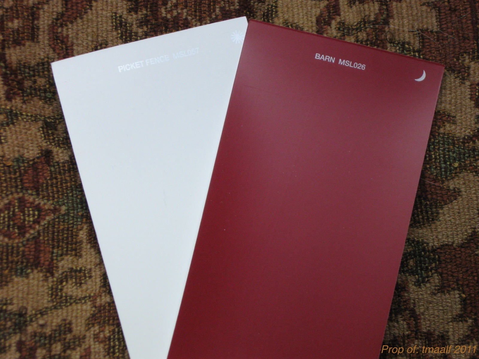 Paint On Pinterest Red Houses Benjamin Moore And White Trim