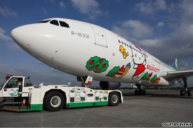 Hello Kitty Jet