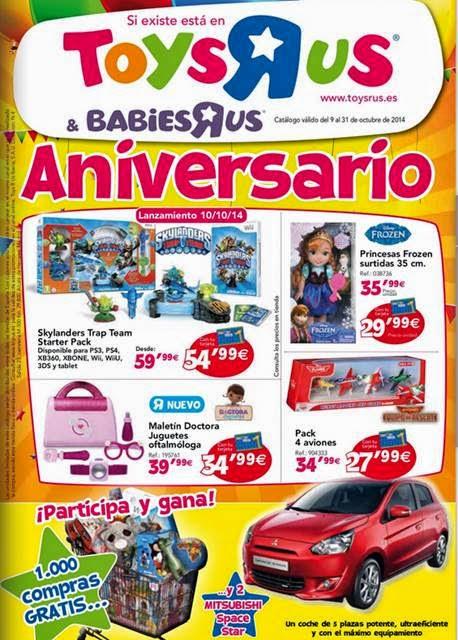 Catalogo Toysrus Aniversario 2014