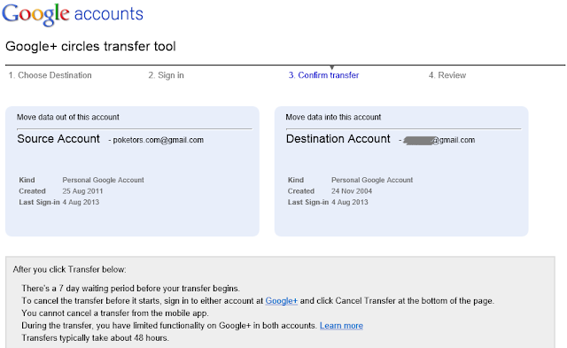transfer-Google-account