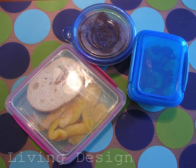 Living Design: Packed Lunches for Adults Round 2