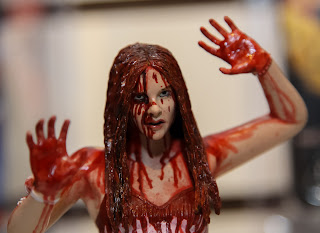 NECA 2013 Toy Fair Display Pictures - Carrie figures