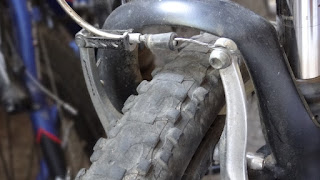 V brakes in Mountain Bike