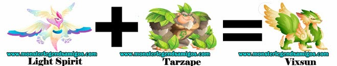 como obtener el vixsun en monster legends formula 1