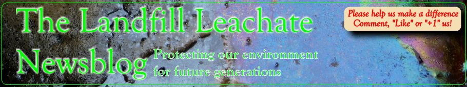 The Landfill Leachate News Blog