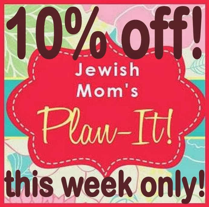 10% OFF JEWISH MOM'S PLAN-IT