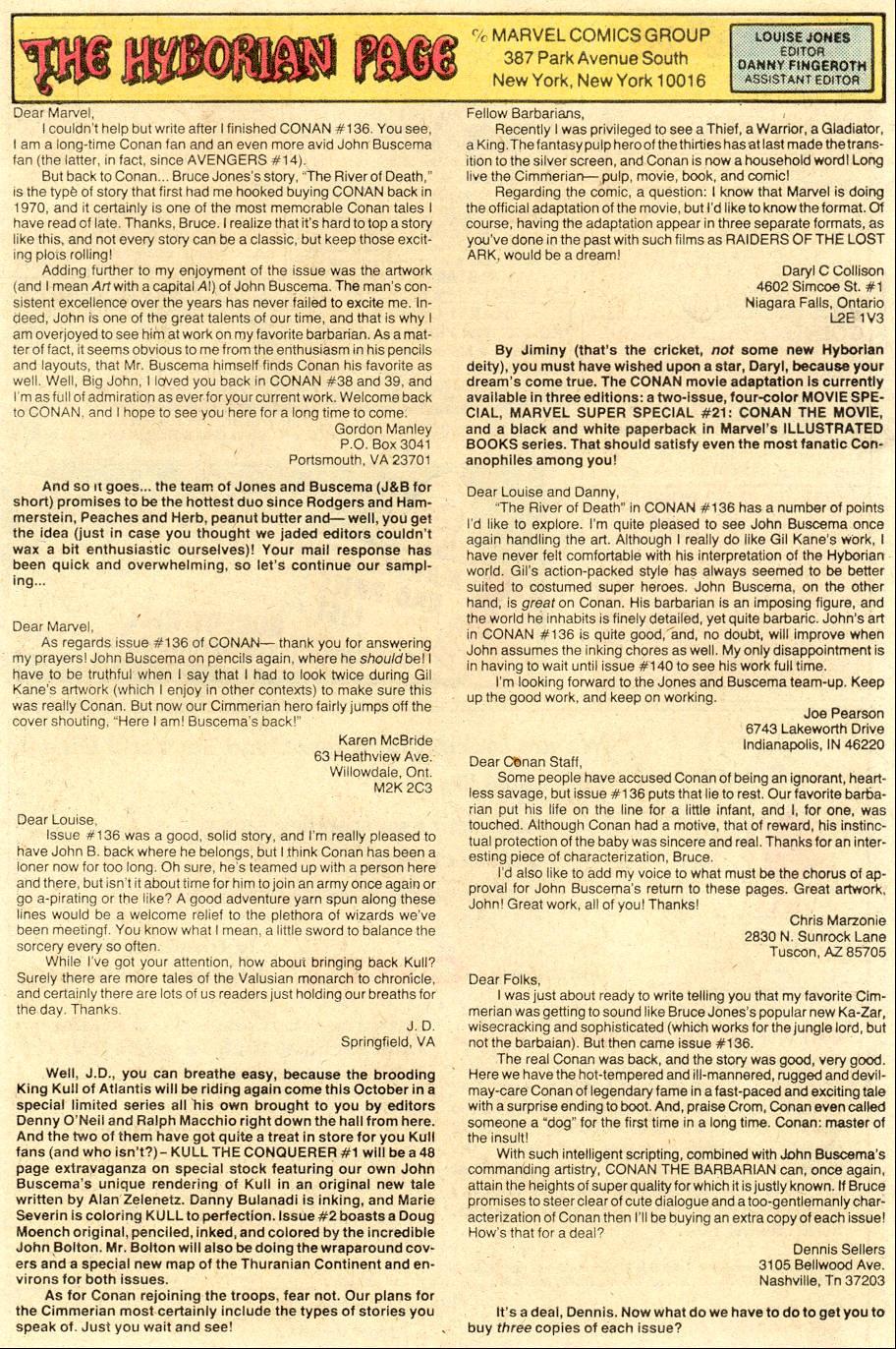 Conan the Barbarian (1970) Issue #141 #153 - English 25