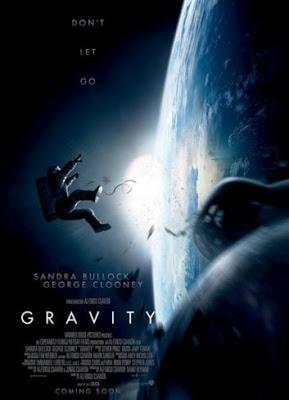 Cartel de Gravity, la nueva película de Alfonso Cuarón
