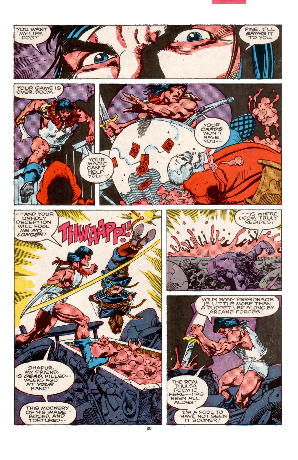 Conan the Barbarian (1970) Issue #202 #214 - English 21