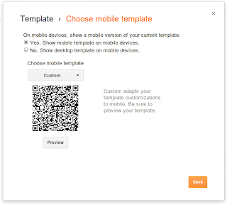 Preview Template -- Blogger Mobile Templates Simplified