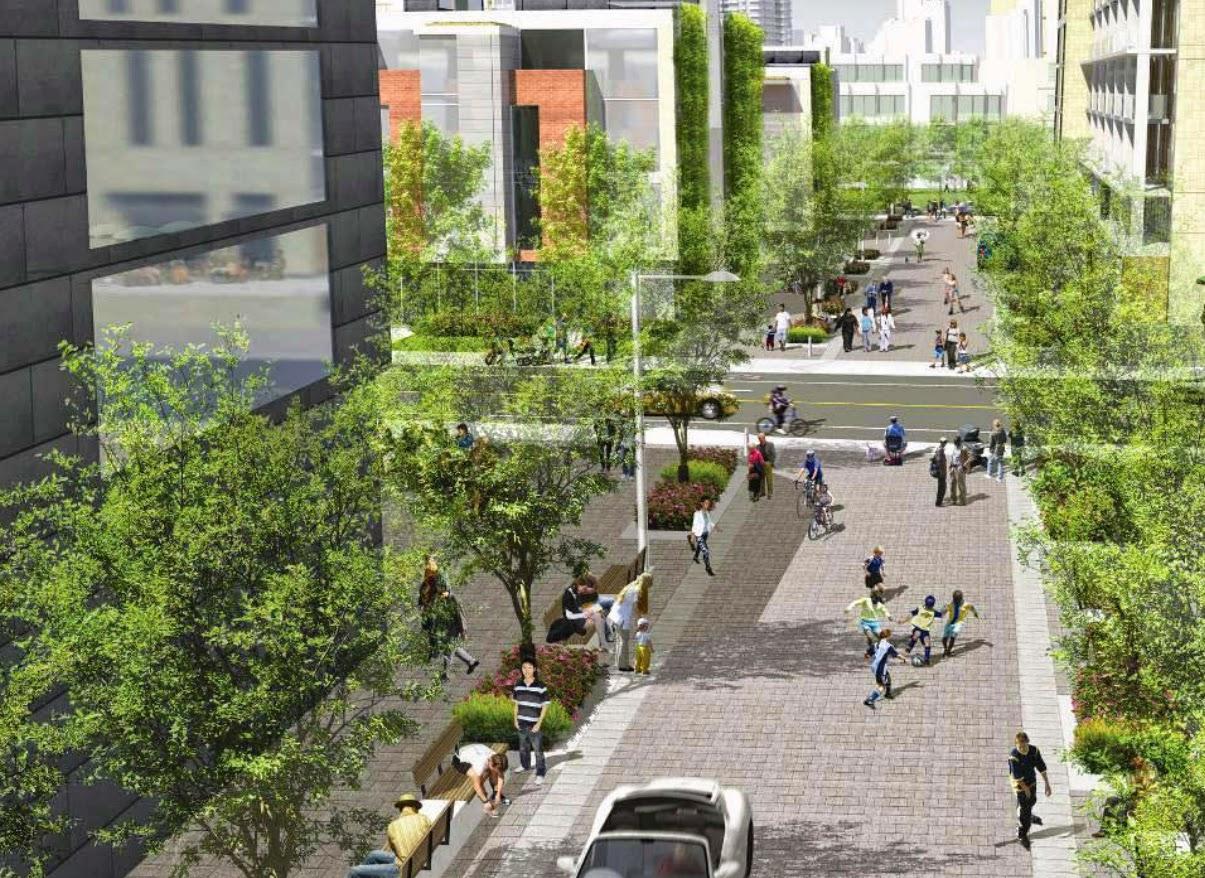 Aeajs conceito holand s de rua para pedestres for Home zone designs