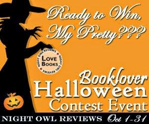 Booklovers Halloween Contest Event