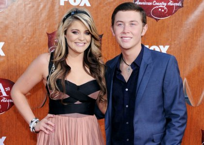 Hollywood Stars: Scotty McCreery With His Girlfriend ... Ashlee Simpson Married