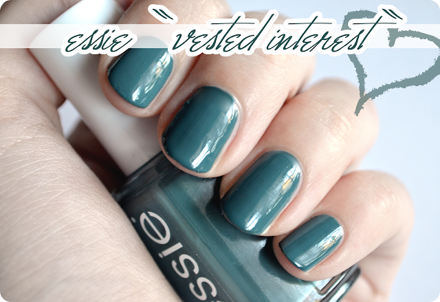 essie Herbstkollektion VESTED INTEREST
