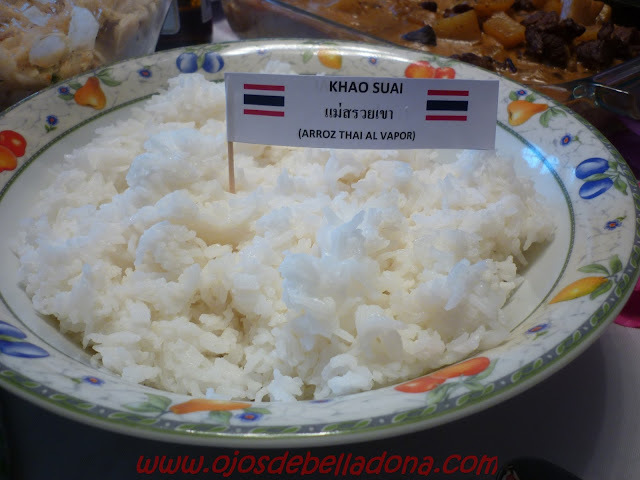 Khao Suai, arroz thai