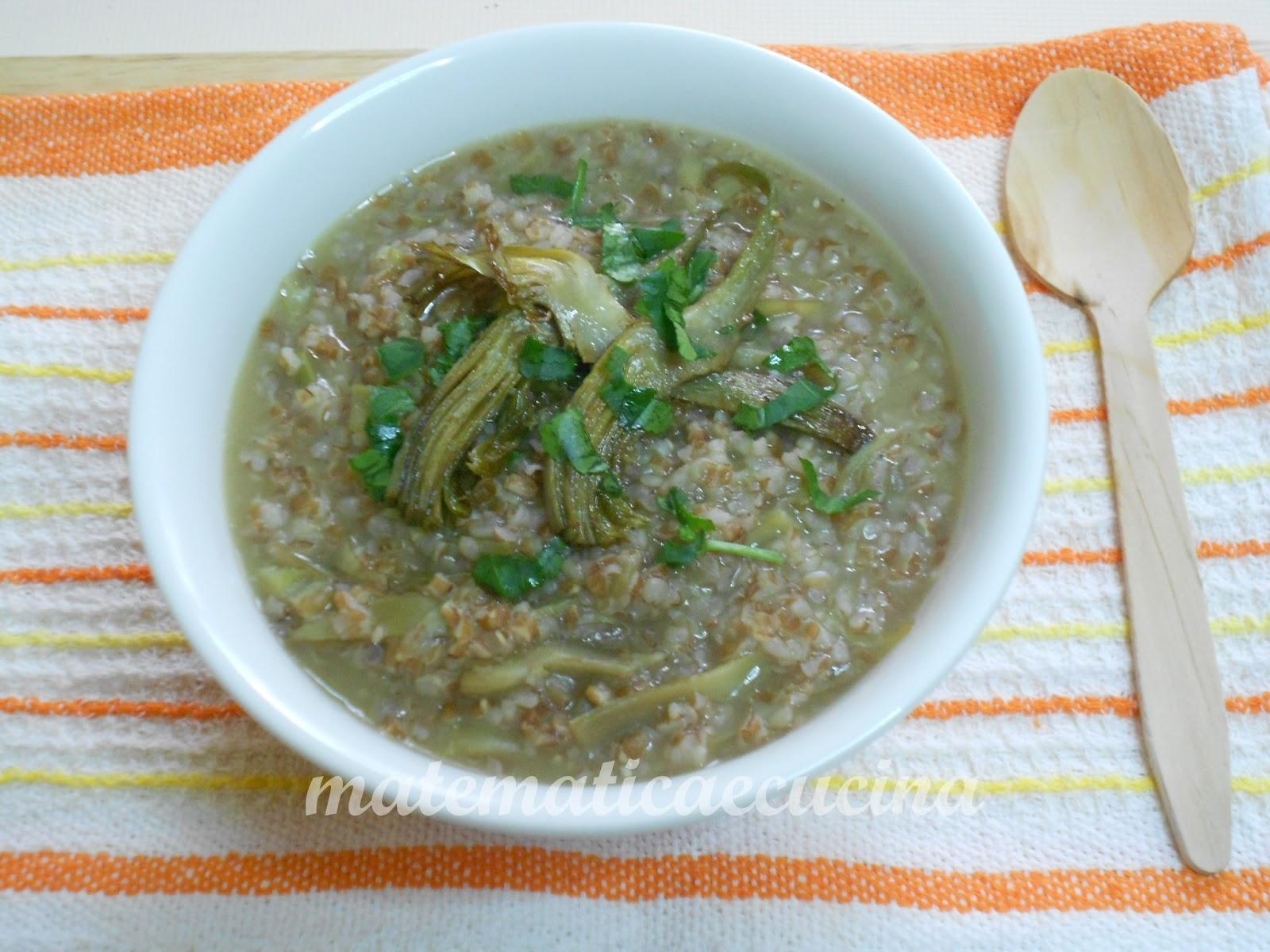 Minestra di farro integrale con carciofi blogs de cuisine for Cuisine integrale