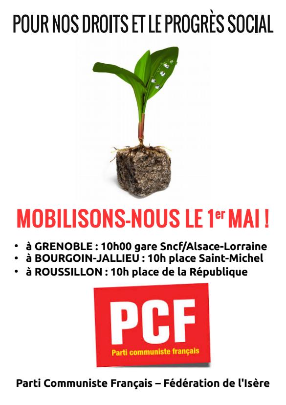 Mobilisons-nous le 1er Mai