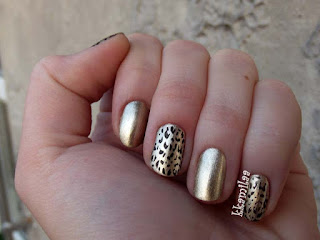 Panterkowy manicure