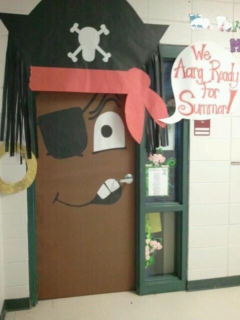 Recursos de educaci n infantil proyecto pirata for Decoracion puerta aula infantil