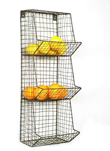 deeAuvil: Organizing with wire baskets