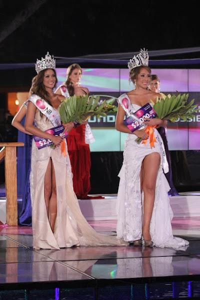 Miss El Salvador / Nuestra Belleza El Salvador 2012 – Winners<br />(LH) Nuestra Belleza El Salvador Universo 2011 - Ana Yancy Clavel Espinoza<br />(RH) Nuestra Belleza El Salvador Mundo 2011 - Maria Luisa Vicuña