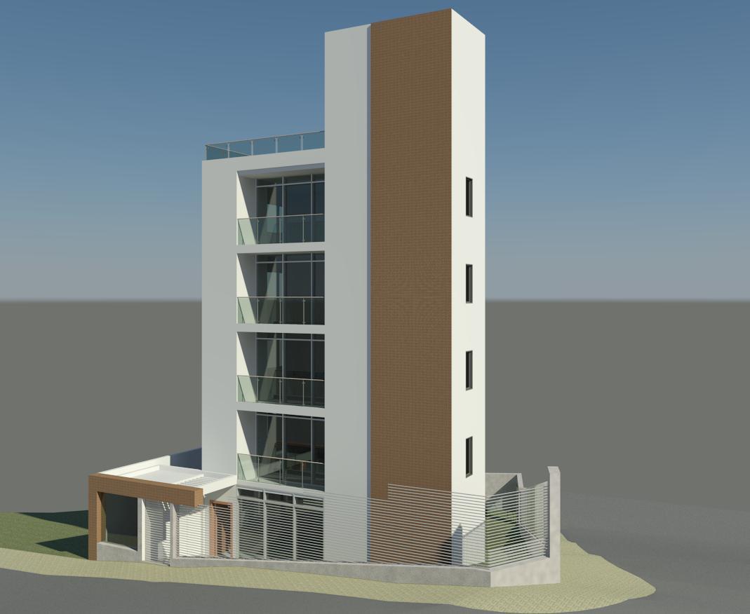 Liciara barreto projetos arquitet nicos agosto 2012 for Fachadas para apartamentos pequenos