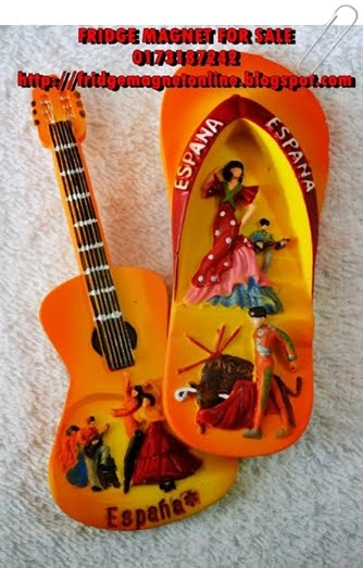 Espana Flip Flop and Guitar