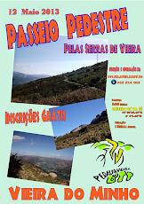 PASSEIO PEDESTRE PELAS SERRAS DE VIEIRA