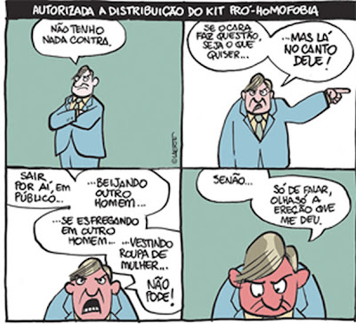 Homofobia by Laerte