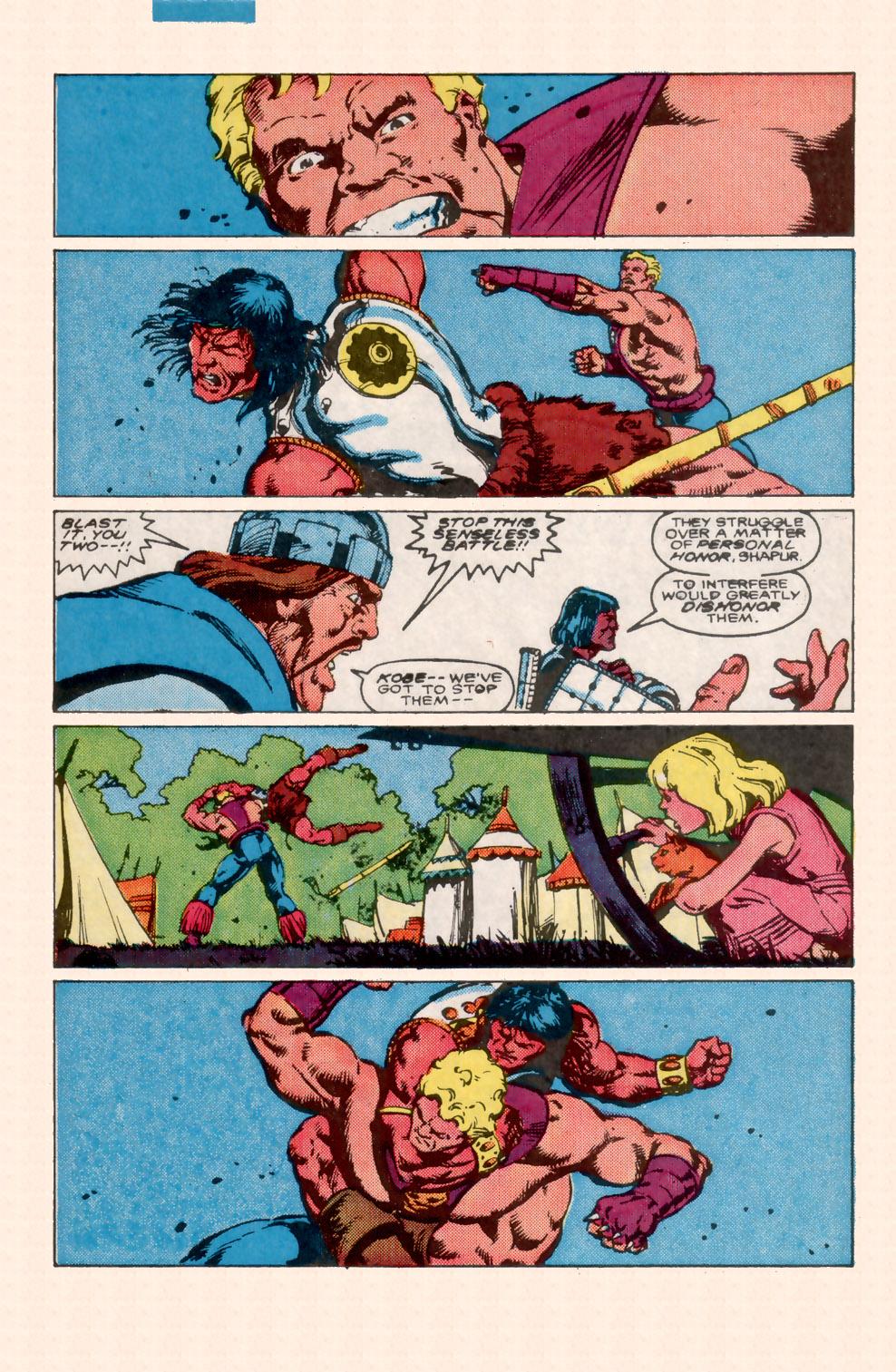 Conan the Barbarian (1970) Issue #199 #211 - English 7