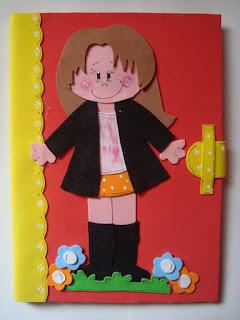 capa para caderno meninas fofas