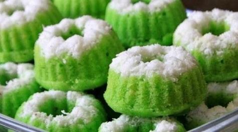resep cara membuat kue putu ayu