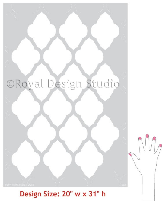 moroccan shapes templates - patrones templates stencil templates paintings curtains