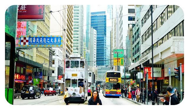 Moverse en tranvía por Hong Kong