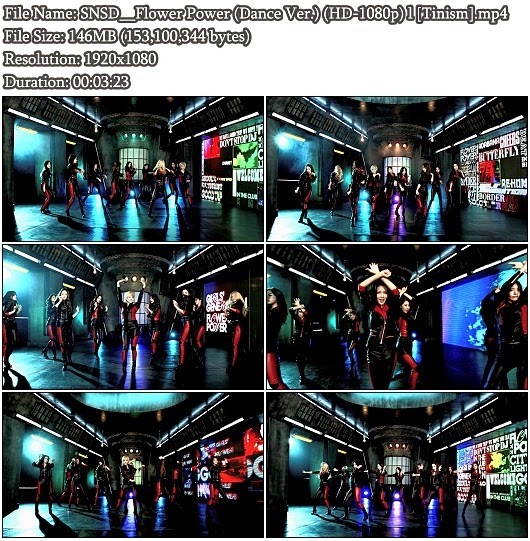 Download PV SNSD (Girls&#39; Generation / )- Flower Power (Dance Ver.) (Full HD 1080p)