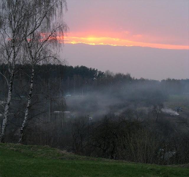 Sunset in Belarus