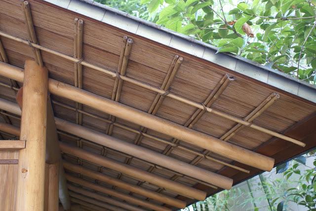 construction d'un pavillon de thé japonais