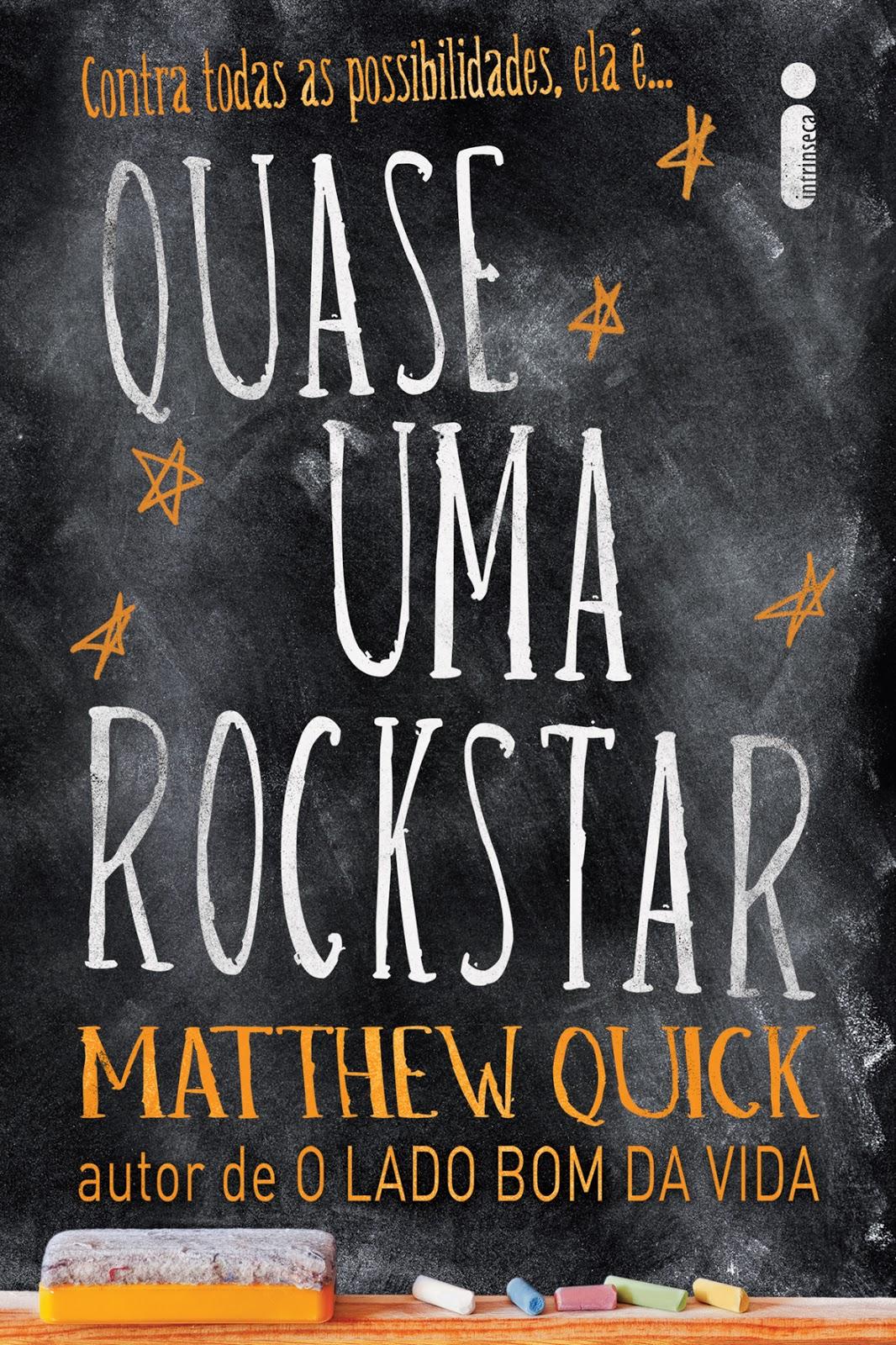 Estante da Nine: Quase uma rockstar de Matthew Quick #AF671C 1066x1600