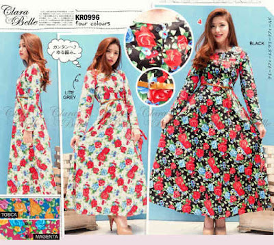 Varesa Flowery Maxi Dress