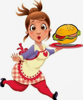 Los que están a dieta prefieren camarera con sobrepeso