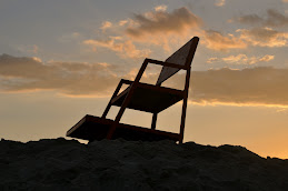 Lifeguard Chair at Dusk