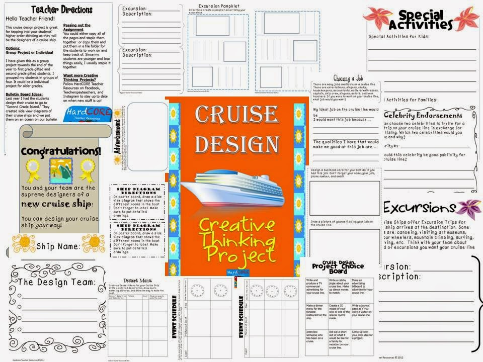 http://www.teacherspayteachers.com/Product/Cruise-Design-Creative-Thinking-Project-Great-for-Gifted-End-of-Year-704246