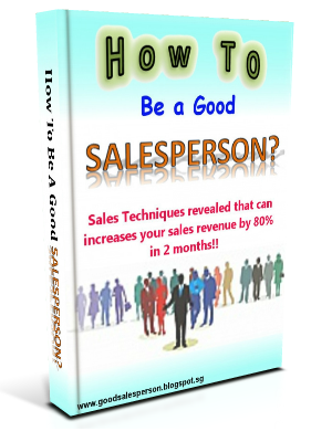 How to be a Good SalesPerson