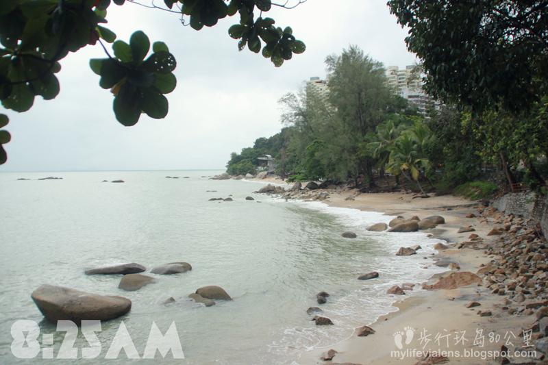步行环绕槟岛八十公里