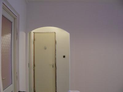 Panel lakás gipszkarton boltív (IV. ker.).