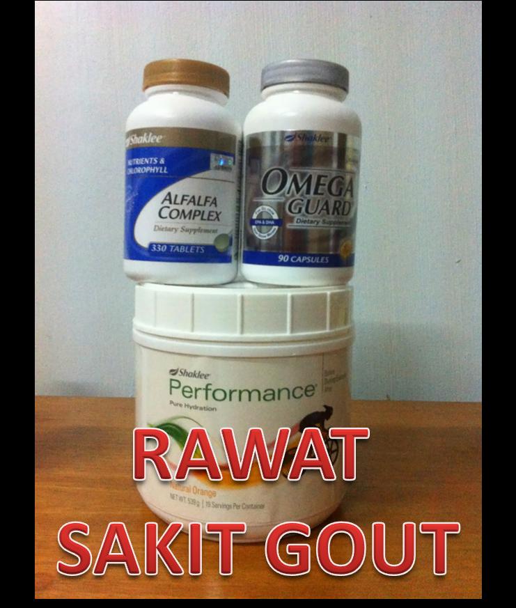 Rawatan Sakit Gout dengan Set Gout Shaklee Shaina Shop