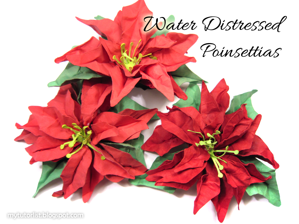 paper poinsettias Make some beautiful paper poinsettias for christmas this printable template can be used in multiple ways create a string of poinsettia lights with them or place individual flowers strategically over lights already on your tree.