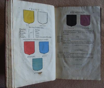 Héraldique et bibliophilie - Chapitre III, couleur, encre et dorure... dans Bibliophilie, imprimés anciens, incunables