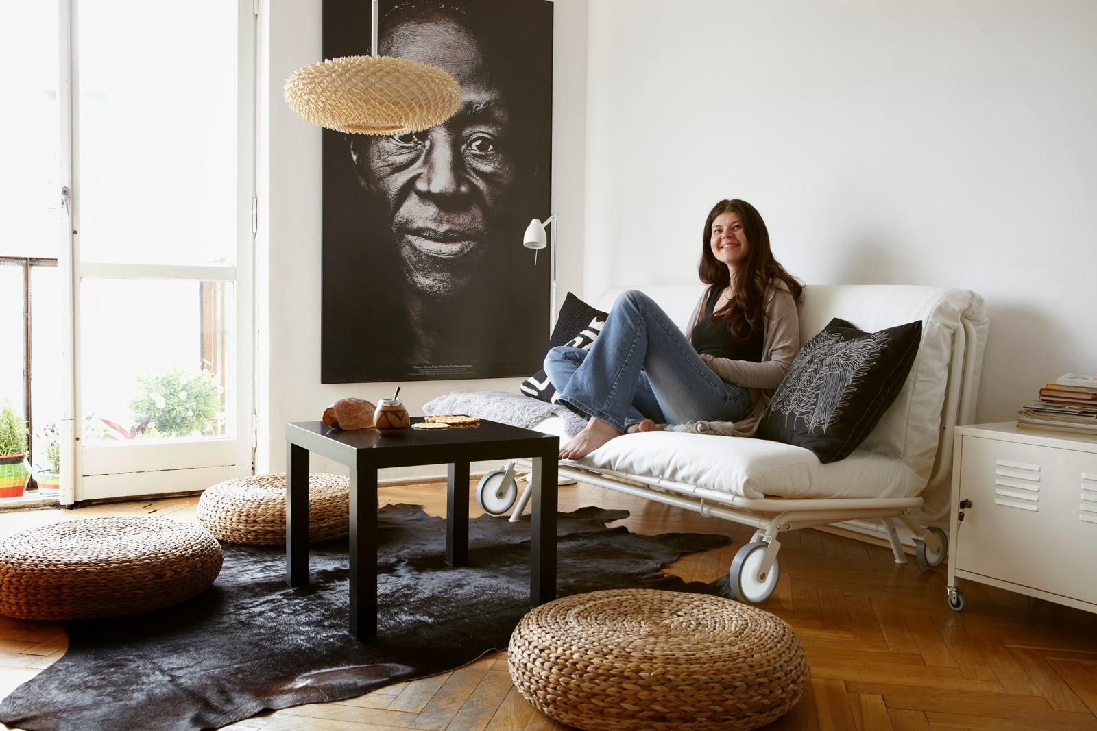 Gambar Desaun Ruang Keluarga Minimalis Sederhana