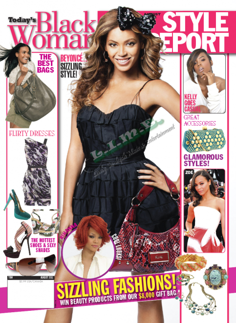 Beyonce Magazine Covers Aug/Sep - 2011 Issue